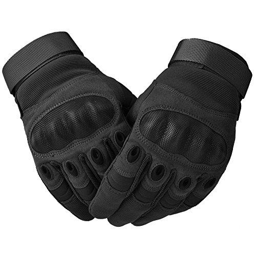 COTOP Motorrad Handschuhe, Hard Knuckle Handschuhe Motorrad Handschuhe Motorrad ATV Reiten Full Finger Handschuhe für Männer (M) - 5