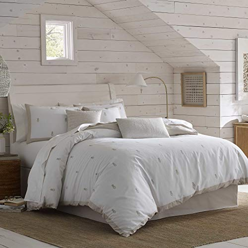 Southern Tide Camana Bay Comforter Set, King, White