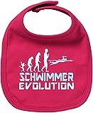 EZYshirt® Schwimmer Evolution Baby Lätzchen Halstuch
