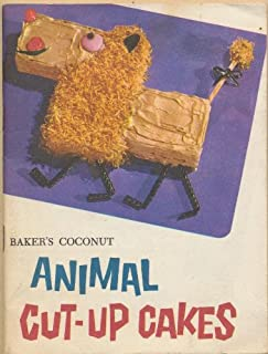 Baker's Coconut Animal Cut-Up Cakes