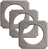 DONGYAO Kit de 3 piezas de accesorios para Ecovacs WINBOT 950...