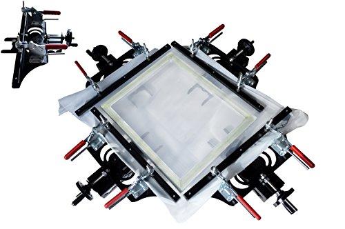 TECHTONGDA 24x24 inches Manual Screen Stretcher Screen Printing Plate Making Tool for Silk Screen Printing