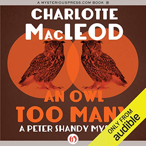 An Owl Too Many audiobook cover art