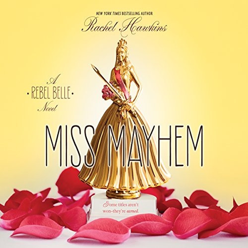 Miss Mayhem audiobook cover art