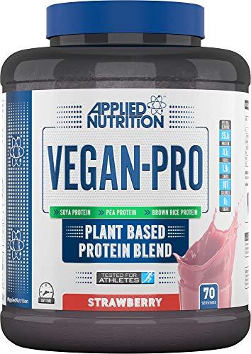 Applied Nutrition Mezcla de Proteínas A Base de Plantas Vegan Pro, Fresa 2100 g