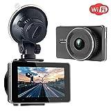 SJCAM Dash Cam WiFi Full HD Autokamera 1080P DVR Road Video Recorder 3.0 Bildschirm...
