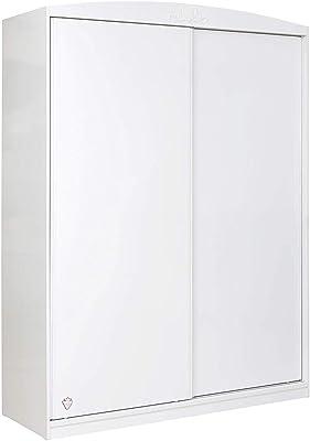 Habitdesign LCX022O - Armario Dos Puertas, Color Blanco Mate ...