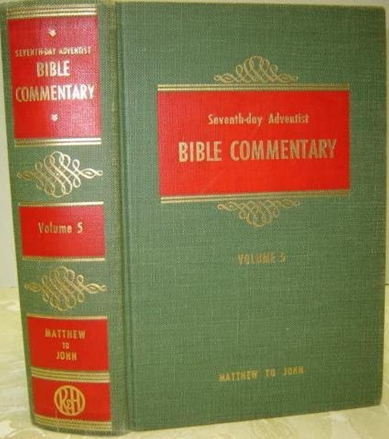 Seventh Day Adventist Bible Commentary. Volume Five: Matthew To John.
