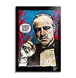 Don Vito Corleone aus Film Der Pate (The Godfather) -
