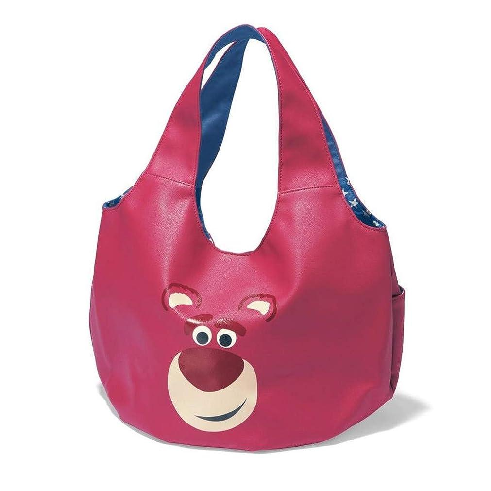 値する共役知覚[ベルメゾン]ディズニー バッグ カバン 鞄 レディース バルーン型トートバッグ カラー ロッツォ ピンク