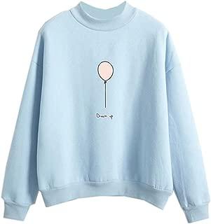 Kawaii Fashion Ladies Clothing Pastel Print Sweatshirt Pullovers