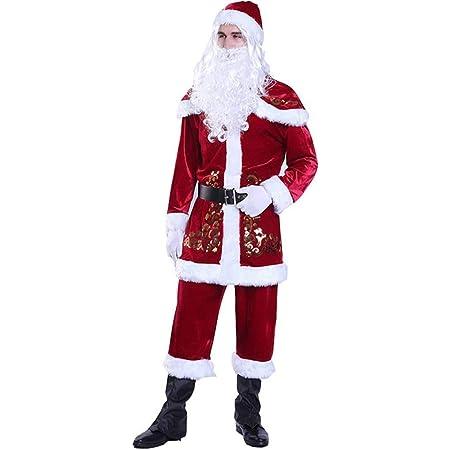Adults Plush Carry Me Santa Fancy Dress Costume