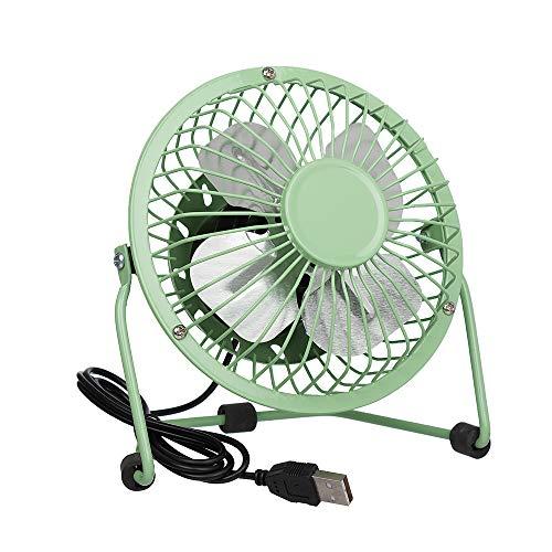 Invero - Ventiladores de refrigeración de escritorio máster. verde verde Mini USB Desktop Cooling Fan Green