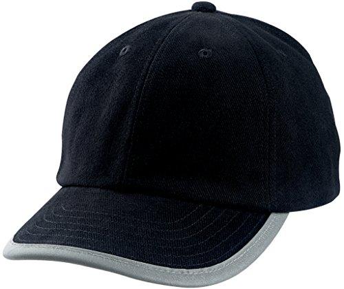 MYRTLE BEACH Casquette sécurité avec Bordure certifiée en 471 (Black)