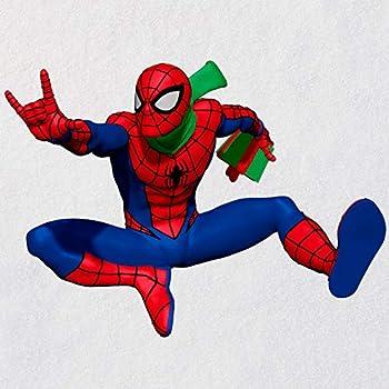 Hallmark Keepsake Christmas Ornament 2020 Marvel Spider-Man Slinging In the Season