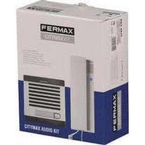 Kit de portero sistema analogico AUDIO CITYMAX 1 Vivienda Fermax 6940 (4+N)