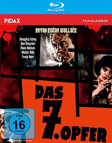 Bryan Edgar Wallace: Das 7. Opfer / Spannender Gruselkrimi mit Starbesetzung + Bonusmaterial (Pidax Film-Klassiker) [Blu-ray]