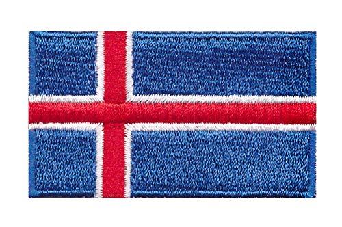 Parche Termoadhesivo Bandera de Islandia 6cm