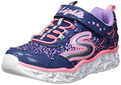 Skechers Girls' Galaxy Lights Sneaker
