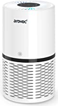 Arovec™ Smart True HEPA Air Purifier, Air Quality Sensor and indicator, 4-layer Filtration System, Air Cleaner, Allergens,...
