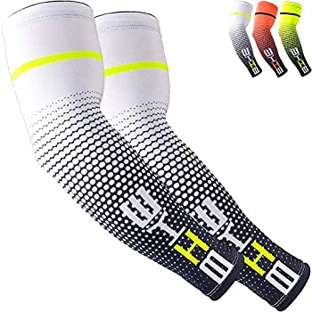 UV Sun Protection Cooling Compression Sleeves Arm Sleeves Men Women Cycling