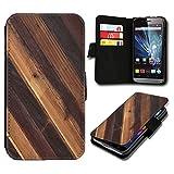 sw-mobile-shop Book Style Wiko Getaway Premium PU-Leder Tasche Flip Brieftasche Handy Hülle mit Kartenfächer für Wiko Getaway - Design Flip SB35