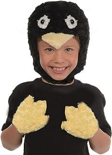 UNDERWRAPS Kid's Children's Animal Pack Dress Up Kit - Penguin Childrens Costume, Black, One Size