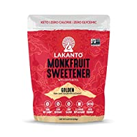 Lakanto Monkfruit Sweetener, Golden, 250ml