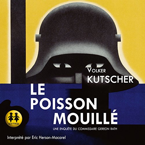 Le poisson mouillé audiobook cover art