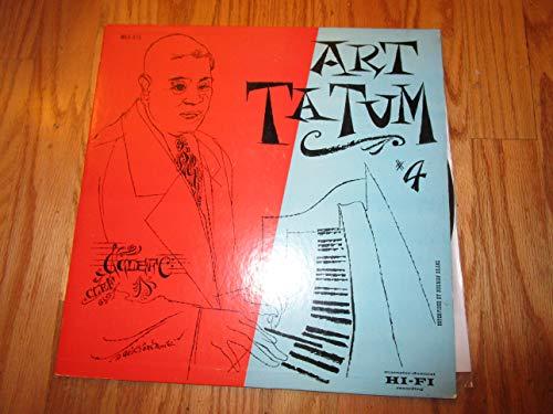 The Genius of Art Tatum #4 Clef (Cat. No. MG C-615)