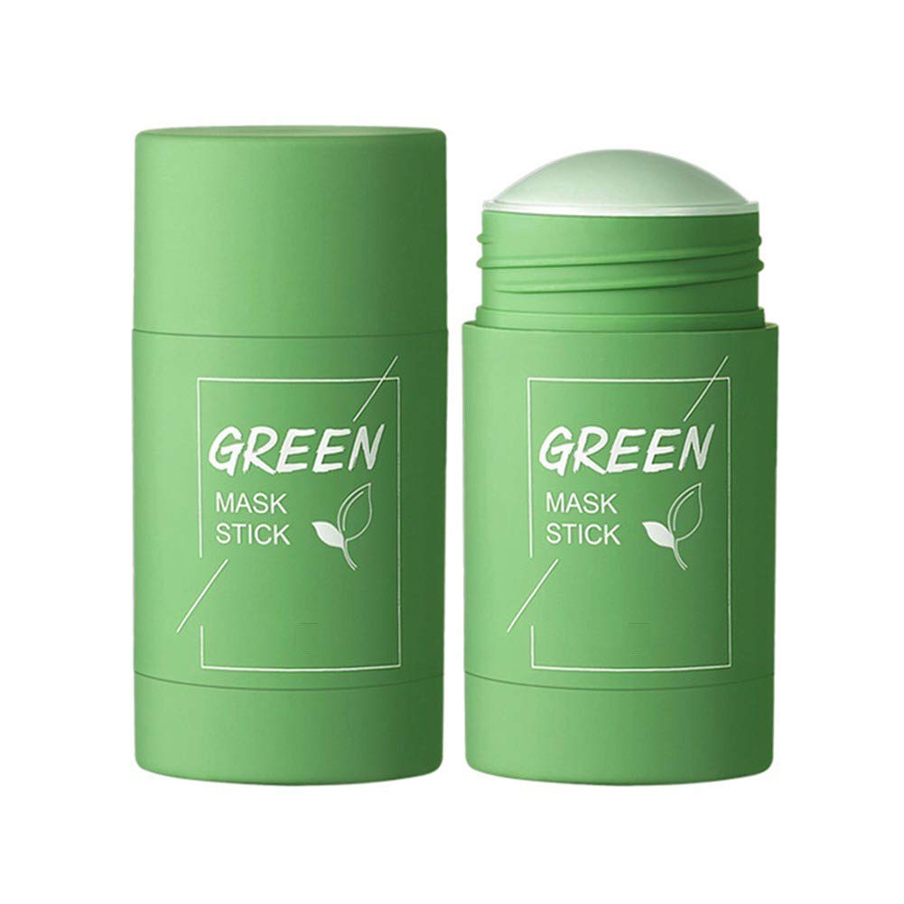 Amazon.com : Ofanyia Natural Green Tea Mask Stick Deep Cleansing Oil  Control Anti Acne Moisturizing Refreshing Lazy Solid Mask : Beauty &  Personal Care