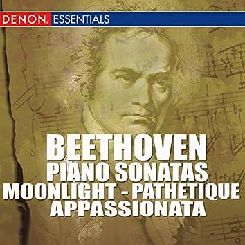 Beethoven - Piano Sonatas - Moonlight -  Pathetique - Appassionata