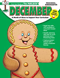 December: A Month of Ideas to Support Your Curriculum for Preschool-Kindergarten
