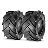 MaxAuto Set of 2 Heavy Duty 23x10.50-12 Lawn Tractor Tires OTR Lug R-1 R1 AG 23x10.5-12 Very Wide 6ply Rated