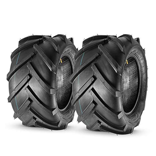 MaxAuto 2PCS 23x10.50-12 AG Tires for Garden Tractor Lawn Riding 6ply Rated