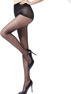 【LEONMAX】光沢 パンスト レディース シルクソックス 5 Dの超薄型 美脚 ソックス パンティーストッキング 極薄 タイツ 透明感 任意クリッピング