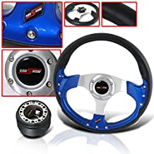 ACCORD PRELUDE JDM DRESS UP COMBO HORN BUTTON W STEERING WHEEL W ADAPTER HUB KIT