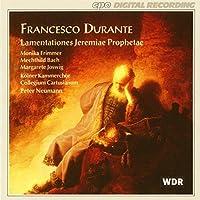 Durante: Lamentationes Jeremiae Prophetae by DURANTE (1995-11-14)