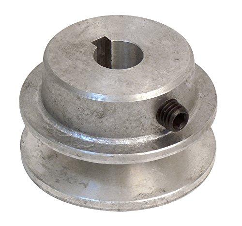 Fartools 117220 - Polea (aluminio, 50 mm, calibre: 14 mm)