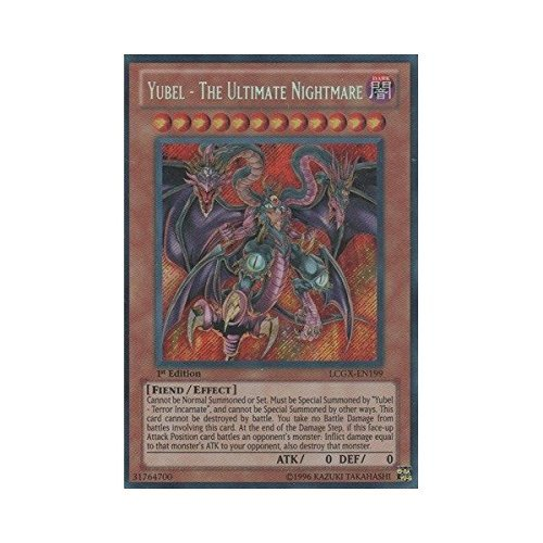 YU-GI-OH! - Yubel - The Ultimate Nightmare (LCGX-EN199) - Legendary Collection 2 - 1st Edition - Secret Rare