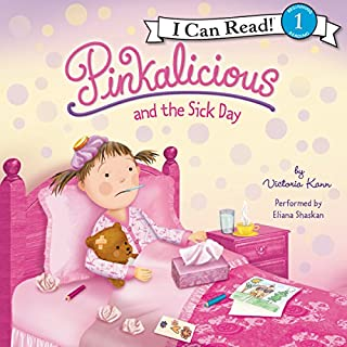 Pinkalicious and the Sick Day audiobook cover art