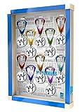 Escaparate de pared para medallas Medal In Frame White Marathon Cities / Medallero / Porta medallas / 10 medallas.