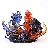 MNZBZ Naruto Uchiha Itachi Sasuke Susanoo Kizuna Relación PVC Figura de colección Modelo de juguete-...