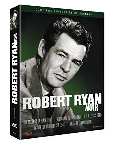 The Woman On The Beach + Crossfire + Berlin Expres + The Woman On Pier 13 + On Dangerous Ground (Region 2) Robert Ryan Film Noir