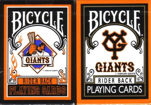 自転車Yomiuri Giants Playing Cards