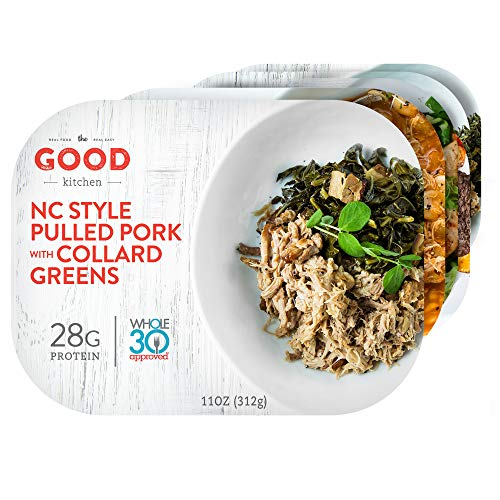 The Good Kitchen Healthy Fully Prepared Frozen Meals Classic Variety Pack | Paleo, Whole30, Gluten-Free Individual Meals | 11 Ounce (Pack of 5)