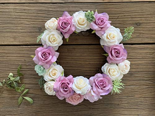 Meerdere stijlen Zijden Pioen Kunstbloemen Kransen Deur Perfecte kwaliteit simulatie Guirlande voor bruiloft Home Party decoratie, 25cm paars
