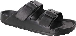 Zuecos para hombre, zapatillas de estar por casa, para el tiempo libre, sandalias para el trabajo, zapatillas de trabajo, ...