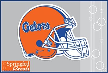 Florida Gators CLASSIC FOOTBALL HELMET 4  Vinyl Decal Car Truck Window UF Sticker