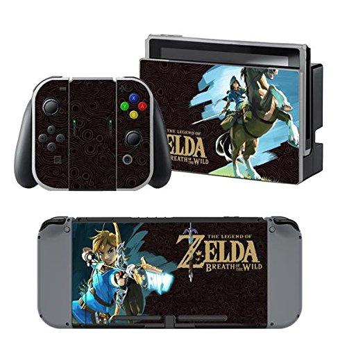 thtb Nintendo Switch + Controller Design Sticker Protector Juego–Zelda (1)/Switch